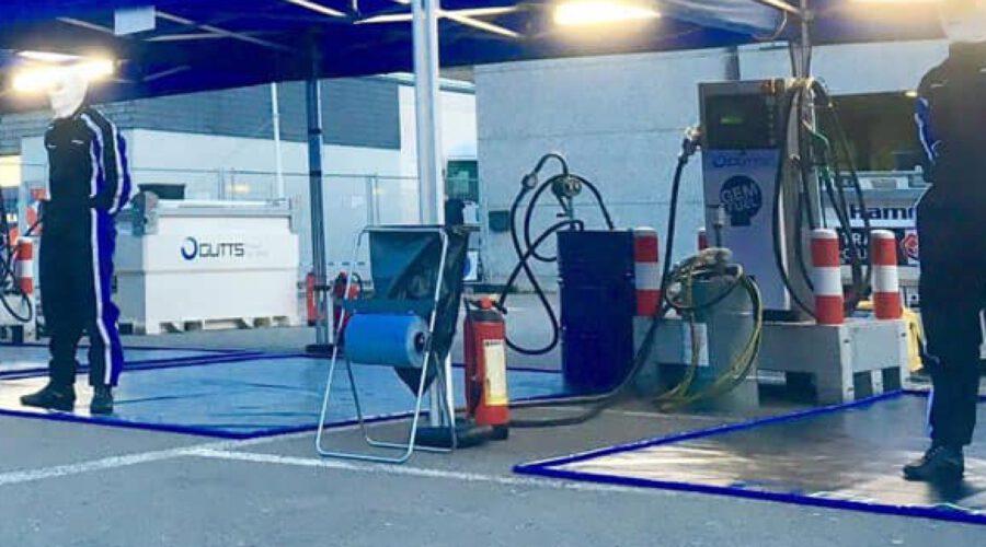 Olie benzine lekmat spill control